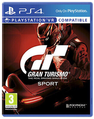 GT Gran Turismo Sport [VR Compatibile] (Guida / Racing) PS4 Playstation 4