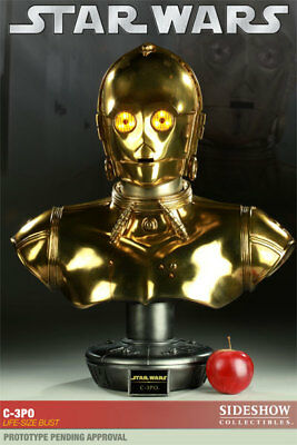 Sideshow Collectibles Star Wars C3PO Life Size Bust - #692 of 750