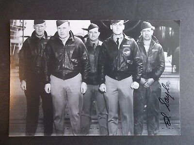 DOOLITTLE'S RAIDERS Ed Saylor Autographed 4x6 Photo