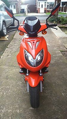 50cc Moped, 15reg, ZN50QT-15, Direct Bikes,automatic, restricted 30mph