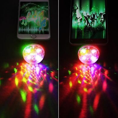 4W USB Mini LED Disco Stage Light Party Club DJ KTV Magic Lamp Ball For Phone zx