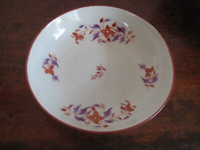 English Late 18Th Century Saucer Bowl Pretty