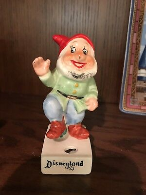 Vintage Disneyland Happy Snow White Figurine WDP Japan