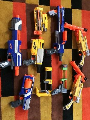 Nerf Bundle , 6 guns all in good condition  comes without bullets