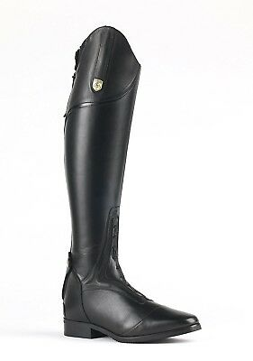 Mountain Horse Ladies Sovereign Equestrian Field Boot, Black, 9 Wide