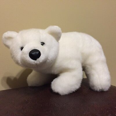Polar Bear Plush Kids Soft Stuffed Animal Small Medium Size 12 14