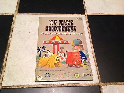 Vintage The Magic Roundabout Tv Show A Day With Mr. Rusty Story Book 1970 Danot