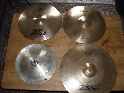 Zildjian HI Hats and Crash + unbranded China