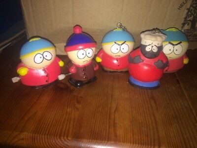South Park Keyring & Wind Up Bundle INC mega Rare 1998 Soft Chef