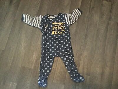 Mothercare Padded Sleep Suit 12-18 Months