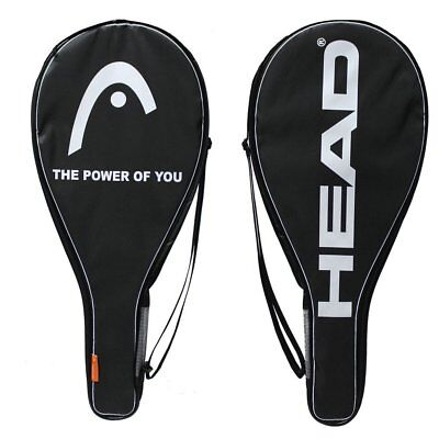 NEW Head Tennis Racquet Cover Black Head Racket Bag Single Racquet