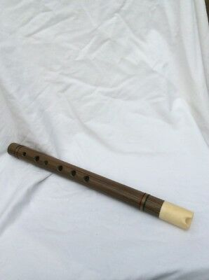 Native american wooden flute
