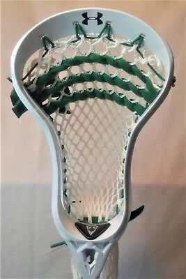 UNDER ARMOUR Vital Head - Strung - White/Grn - NEW