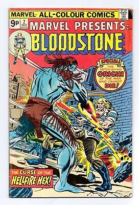 Marvel Comics: Presents: Bloodstone #2