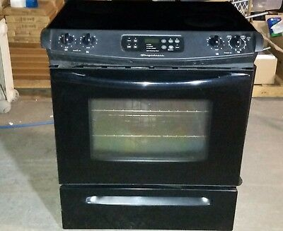 Frigidaire Slide In Gl Top Stove W Self Cleaning Oven Black