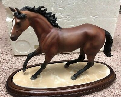 Lenox Champion Of The Wind Porcelin Horse