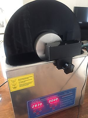 Sonic Record Cleaning Machine   Fantastic!!!