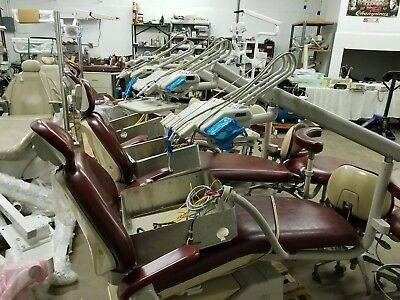 Adec Dental packages model 1020 chair / delivery unit continental 360/ 2 stools
