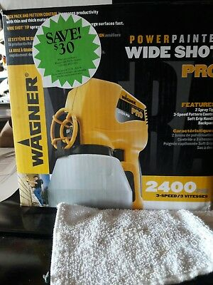 Wagner Pro Wide Shot Power Painter 2400 psi 3 speed