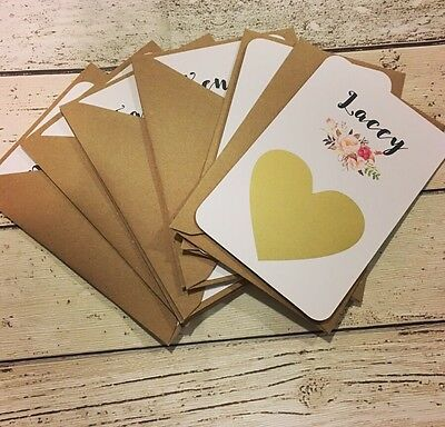 Scratch Of Gold Heart Floral Will You Be My Bridesmaid Card Flower Girl