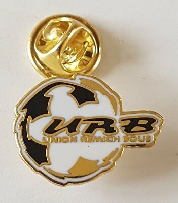 Football pin badge Union Remich Bous (Luxemburg)
