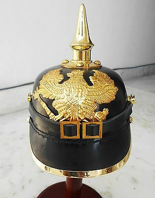 Armour German Pickle Haube Helmet Wwi Sca Leather Style Scary Helmet Replica