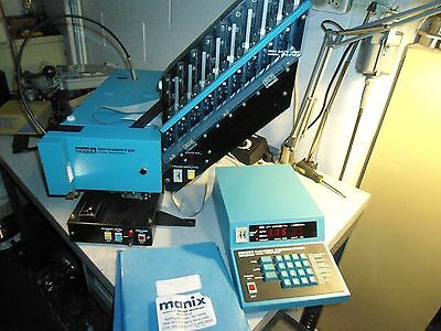 Manix DIP Inserter MS4100A with MC4100P Random Programmer
