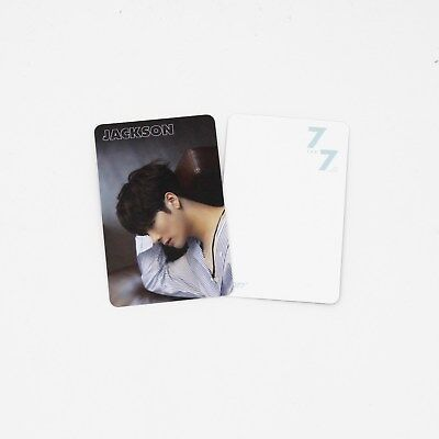 [GOT7]Official Photocard-JACKSON/Making version/7 for 7/You Are/7for7