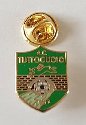 Football pin badge AS Tuttocuoio (Italy)