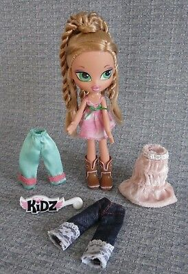 Bratz Kidz Cloe Sleep-over Adventure Doll - with extra clothes