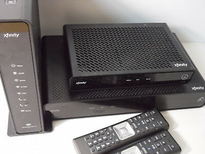 Xfinity Xg1-A ~ Rng 150N ~ Xb3 ~ Router ~ Reciver ~ Modems 2 Remotes  Comcast
