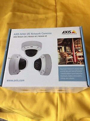 AXIS M3024-LVE Network Camera Outdoor-ready, day/night HDTV fixed dome with IR