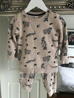 Boy H&M Tracksuit Size 1.5-2 Years Vgc