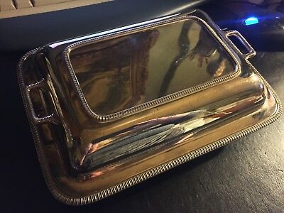 Silver Plated Tureen & Cover (Harrison Brothers & Howson
