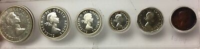 1959 Proof-like Centennial Coin Set Canada - Beautiful Toning