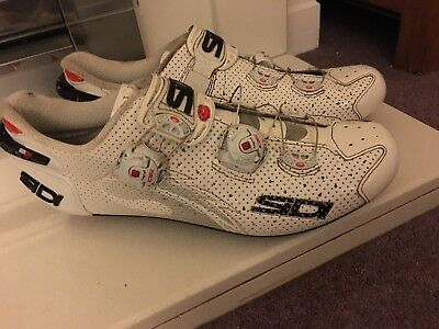 Sidi Scarpe Wire Carbon Air  Cycling Shoes Size 44.5 (10) Used But Good Con