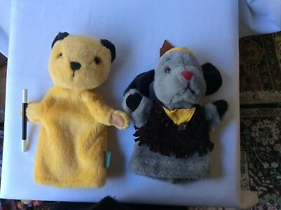Sooty And Musical Sweep In Indian Chief Costume Hand Glove Puppet