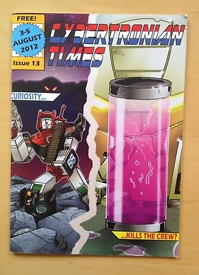 Cybertronian Times #13 2012 Auto Assembly Transformers Magazine Go Bots