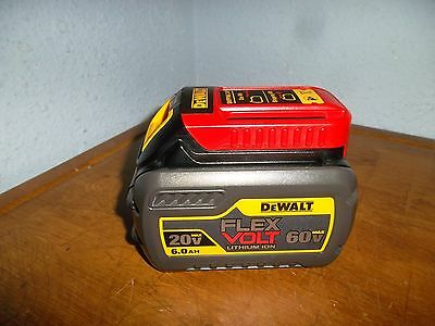 DEWALT DCB606 20v 60V MAX FLEXVOLT 6.0 Ah Battery