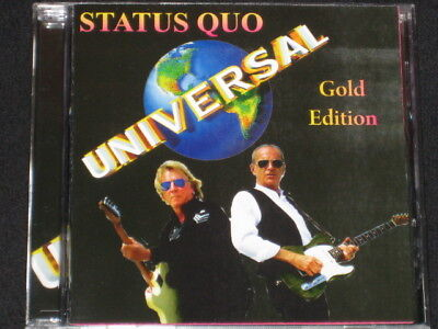 Status Quo Universal Best Hits Very Rare Cd Edition 21 Trks Collector New Sealed