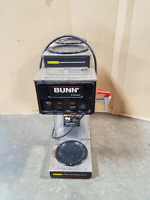 BUNN STF-15 AUTOMATIC & POUROVER COMMERCIAL COFFEE  MAKER MACHINE– Commercial B