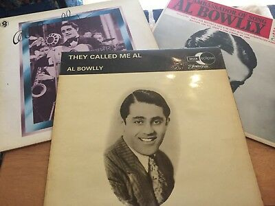 Joblot 3 X AL BOWLLY. VINYL LP ALL IN EXCELLENT CONDITION