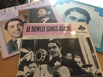 Joblot  3 X AL BOWLLY  VINYL LP EXCELLENT CONDITION