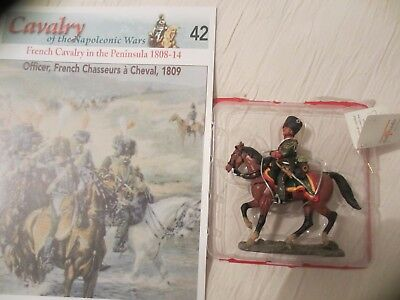 Del Prado Cavalry Of The Napoleonic Wars: Officer, French Chasseurs 1809, Mag 42