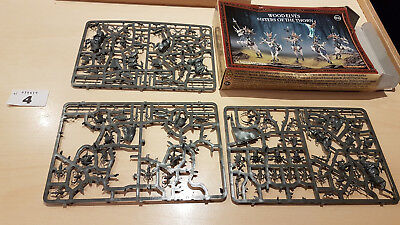 Warhammer Sigmar - Wood Elves Sylvaneth - Sisters of the Thorn - Parts on Sprues