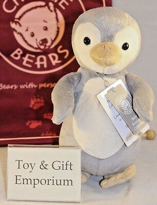 HALF PRICE! Charlie Bears Baby Boutique PABLO Penguin (Brand New Stock!)
