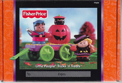 Fisher Price Little People Tricks 'n Treats Halloween Themed Mattel 2002
