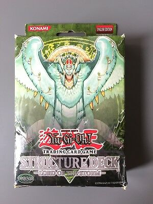 Yugioh Structure Deck Lord Of The Storm 1st Edition Boxed