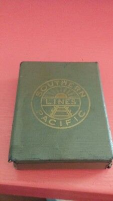 Vintage 1940s California Golden West Southern Pacific Railroad Playing Cards