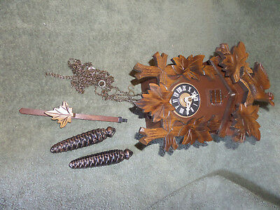 Great Small Cuckoo Clock Made In West Germany~Works